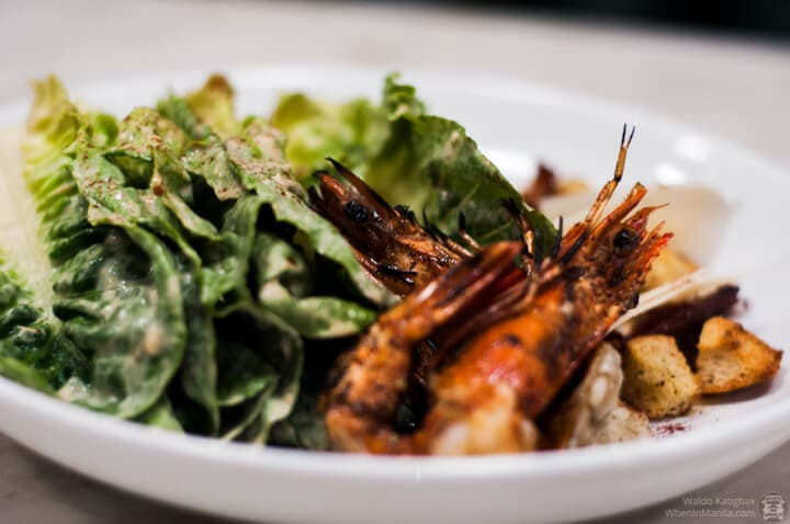 Spice and Cleaver - 2nd - Caesar Salad with Prawns (1)