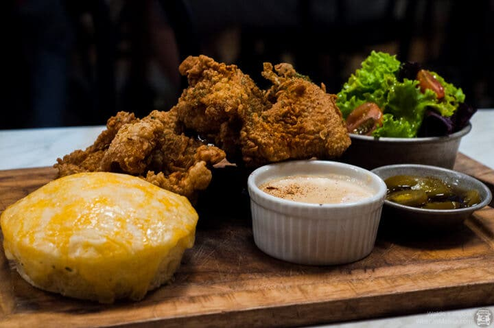Spice and Cleaver - 8th - Southern Fried Chicken with Puto Corn Bread (3)