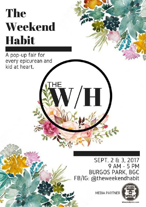 The Weekend Habit Poster - lowres
