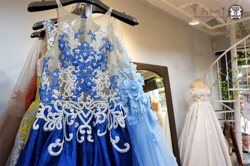 Find Your Fairy Godmother At Royanne Camillia Couture When In Manila