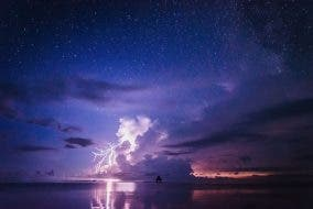 Dedon Island, Martien Janssen of Travel Imagez, Siargao Time lapse, Milky Way, Lightning Photography, Nature, Stars