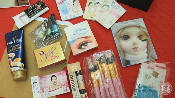 loot bag product paintbox artistry