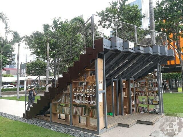 The Book Stop Project in BGC Taguig