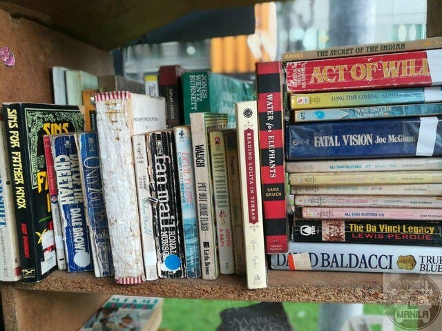 Give a book, get a book - The Book Stop Project in BGC Taguig