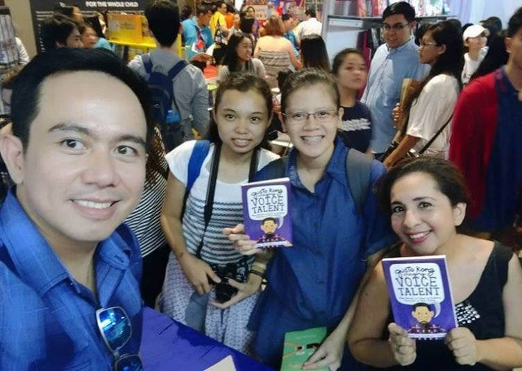 Gusto Kong Maging Voice Talent Launch at the 2016 Manila International Book Fair