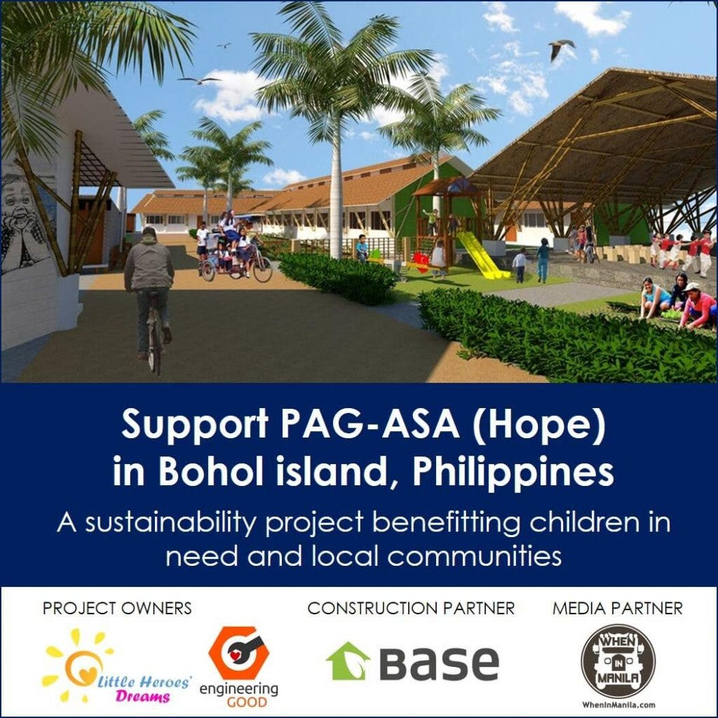 Project PAG-ASA in Bohol, giving children a better life and helping create resilient communities