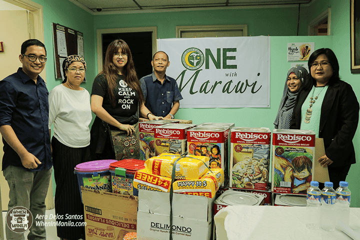 Turnover of Relief Goods for the Children of Marawi