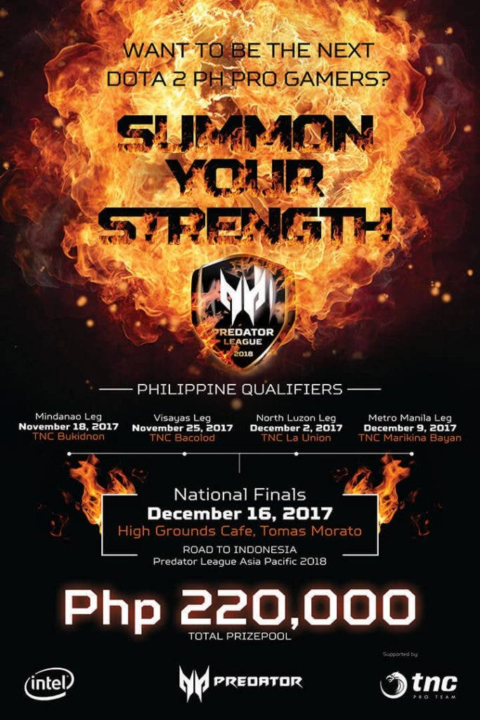Huge DOTA 2 gaming tournament is happening now!!! - When In Manila