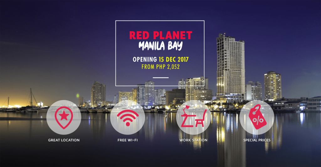 New Red Planet Hotel Opens Along Manila Bay - When In Manila