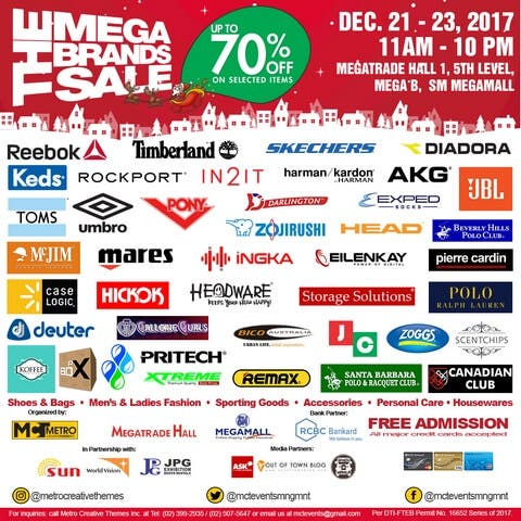 Metro Creative Themes Inc. (MCTI) will hold the 21st Megabrands Sale  Christmas Edition at the Megatrade Hall 1 2c816d4f9