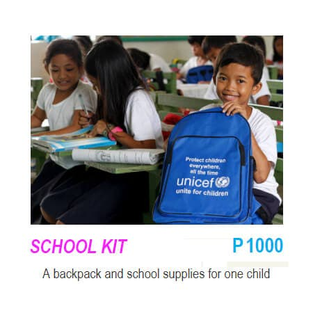 EXCHANGE INSPIRED GIFTS THAT CHANGE LIVES - School Kit