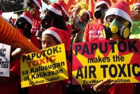 Iwas paputok - Instead of buying firecrackers, why not donate money for the rebuilding of Marawi?