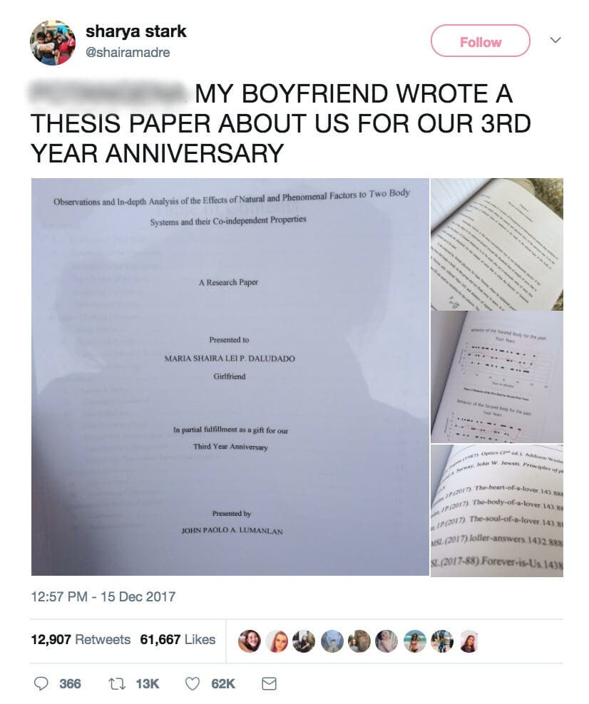 LOOK: HS student gifts girlfriend a