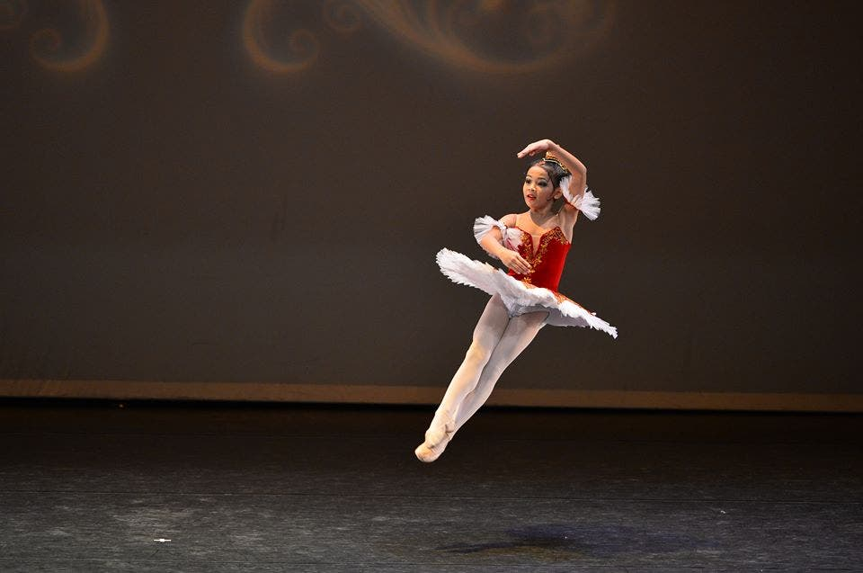 Badet Sinues Filipina Ballet Dancer on the road to gold