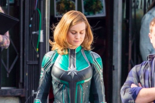 size 40 4064e 1cce2 Here s Your First Look at Brie Larson s Captain Marvel Costume! - When In  Manila