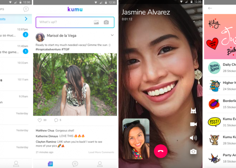 Kumu-messaging-and-video-calls
