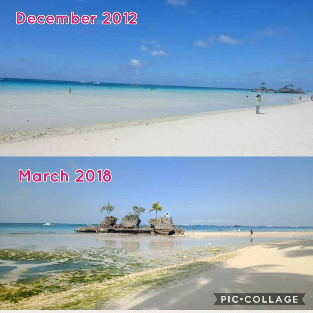 Boracay Beach: LOOK: Then And Now Photos Of Boracay Show How 'green' The