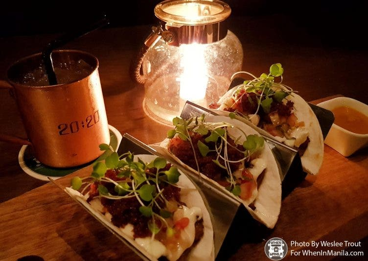 2020 pork belly tacos 4 Must Try Tacos in Manila