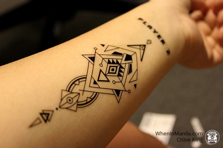 express yourself in 4 easy steps with these temporary tattoos when in manila. Black Bedroom Furniture Sets. Home Design Ideas