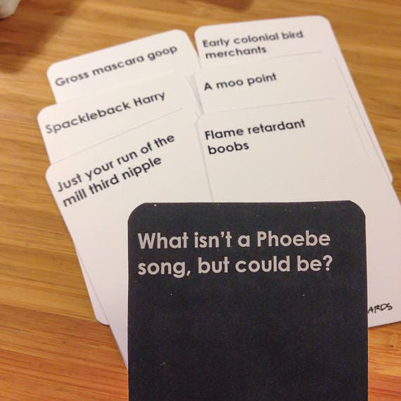 """There's A """"Friends"""" Version Of Cards Against Humanity, Oh"""