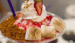 Froozy Strawberry Cream Pie