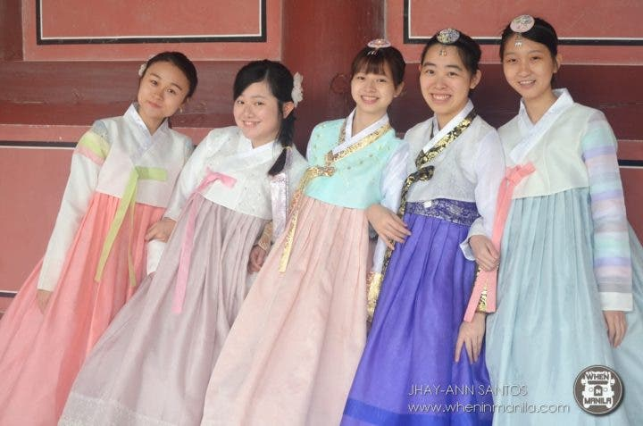 536437fae A visit to South Korea is incomplete without trying their traditional  dress. I must say it is a must to experience wearing one when visiting the  country.