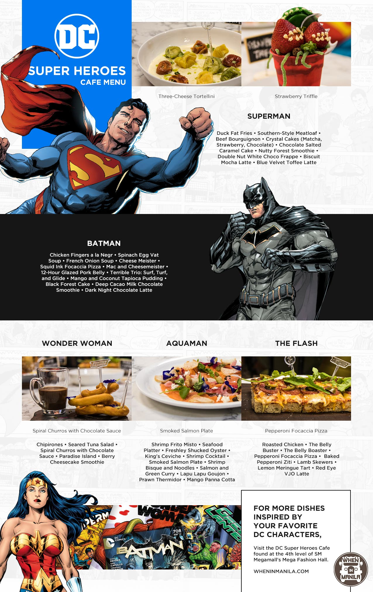 DC Cafe Infographic