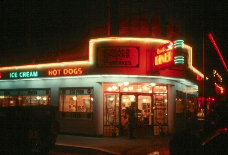 Rosie's Diner and Pop's Chock Lit Shoppe
