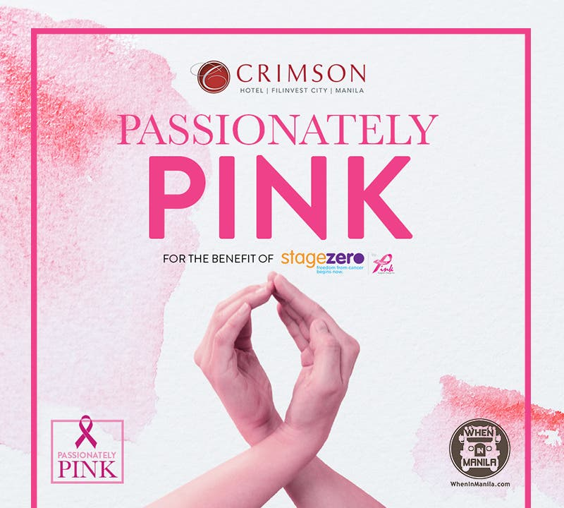 Crimson Hotel Filinvest City launches 'Passionately Pink' for Breast