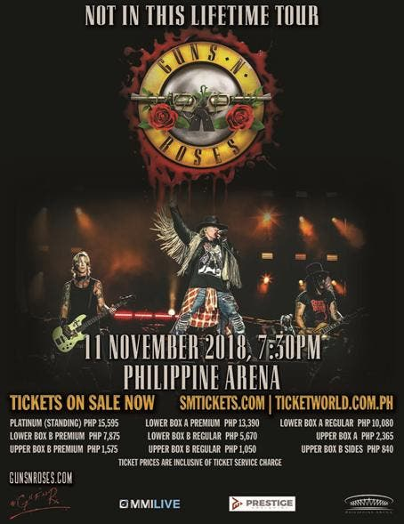 Manila Prepares For The Biggest Rock Reunion This 2018 When In Manila