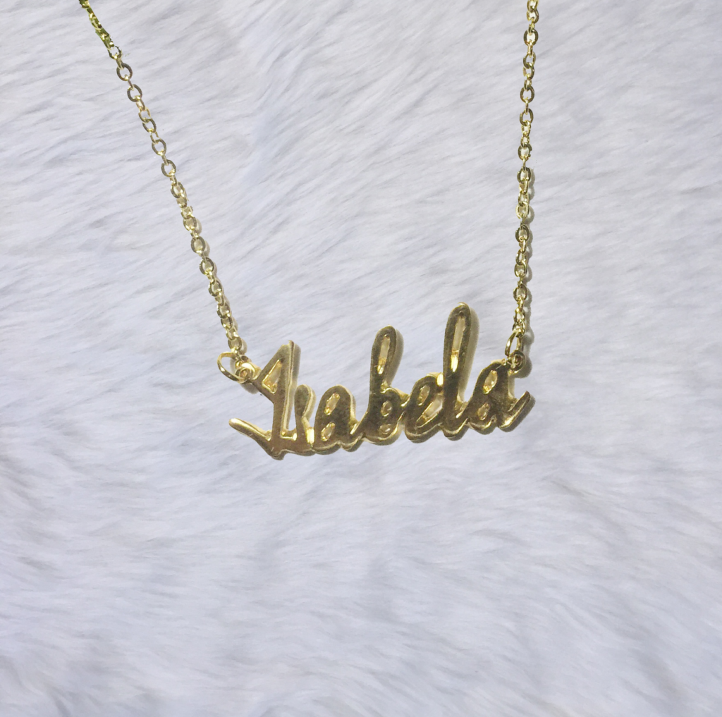 Artisan & Co  - Pretty Personalized Name Necklaces (They