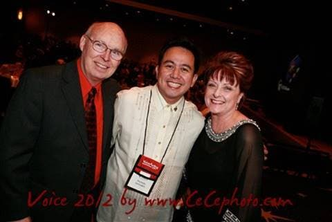 With my mentors Penny Abshire and James Alburger