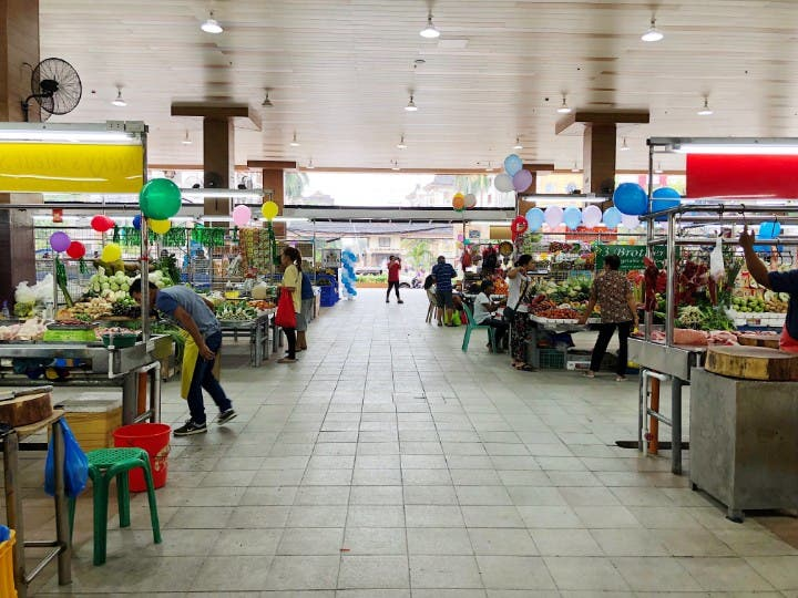 LOOK: This Clean and Spacious Palengke in Ortigas is Seriously