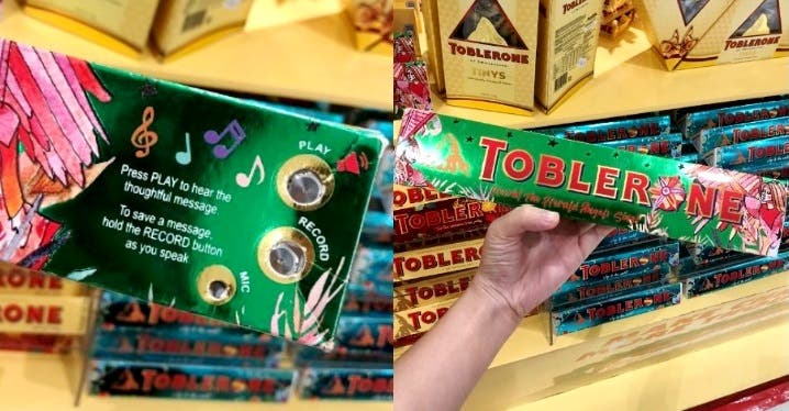 Toblerone Thoughtful Tunes pack