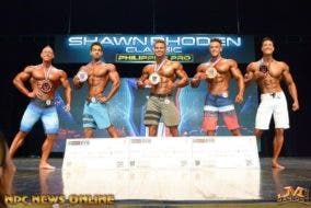 Shawn Rhoden Classic Men's Bodybuilding