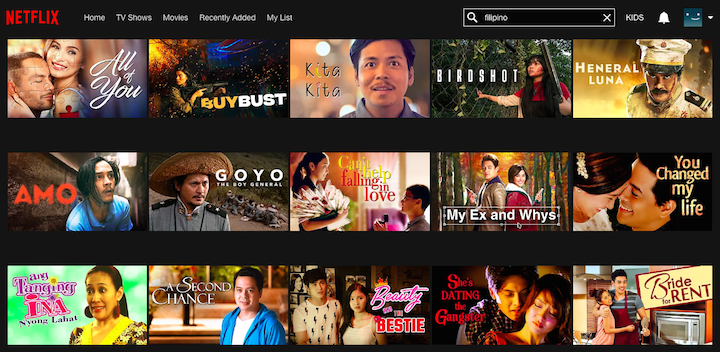 These Filipino movies are now on Netflix and we need a marathon ASAP