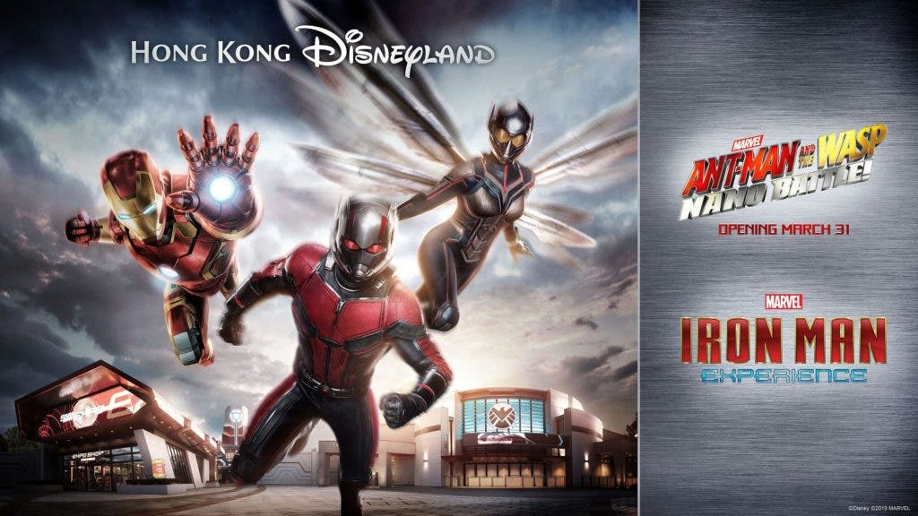 AMNTW Key Visual 1024x576 - Hong Kong Disneyland Opens New Attraction: Ant-Man and The Wasp: Nano Battle!