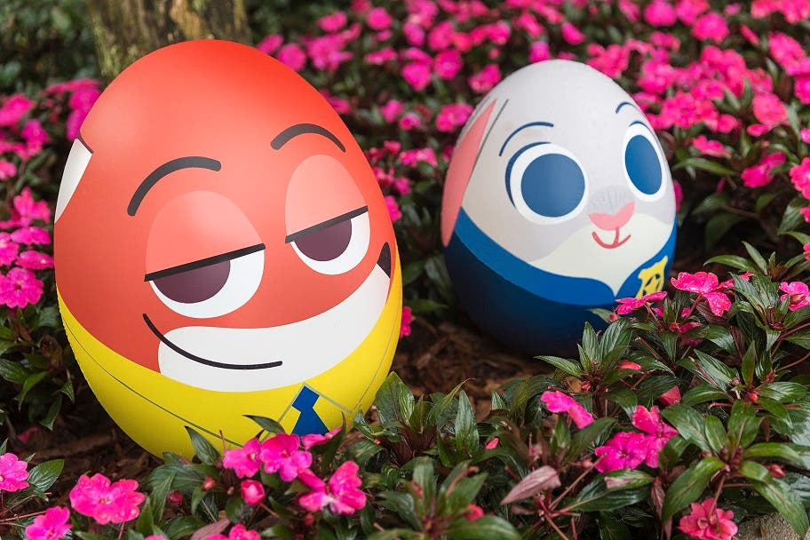COS Park Disney Charcter Egg Hunt Nick and Judy - Hong Kong Disneyland Opens New Attraction: Ant-Man and The Wasp: Nano Battle!