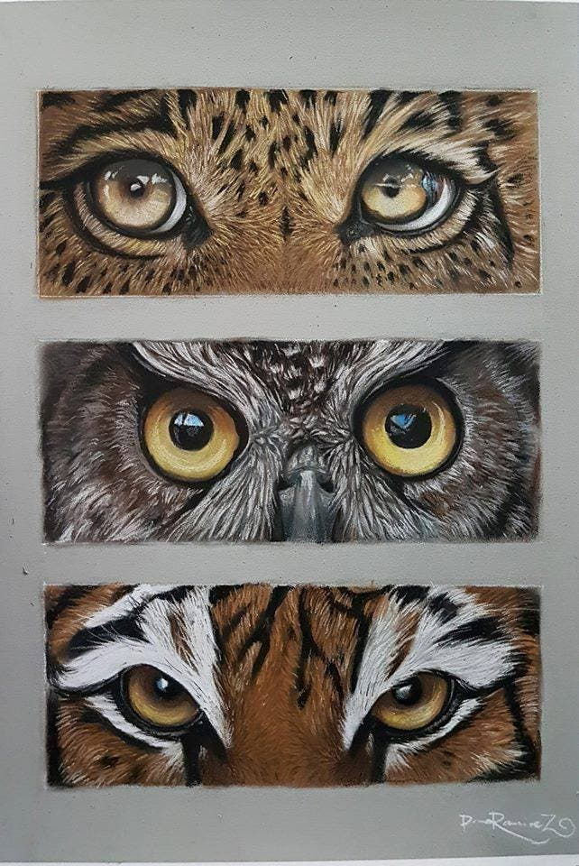 Dave Ramirez Carbothello 1 - LOOK: This Artist Creates Dramatic Animal Portraits with STABILO CarbOthello Pencils
