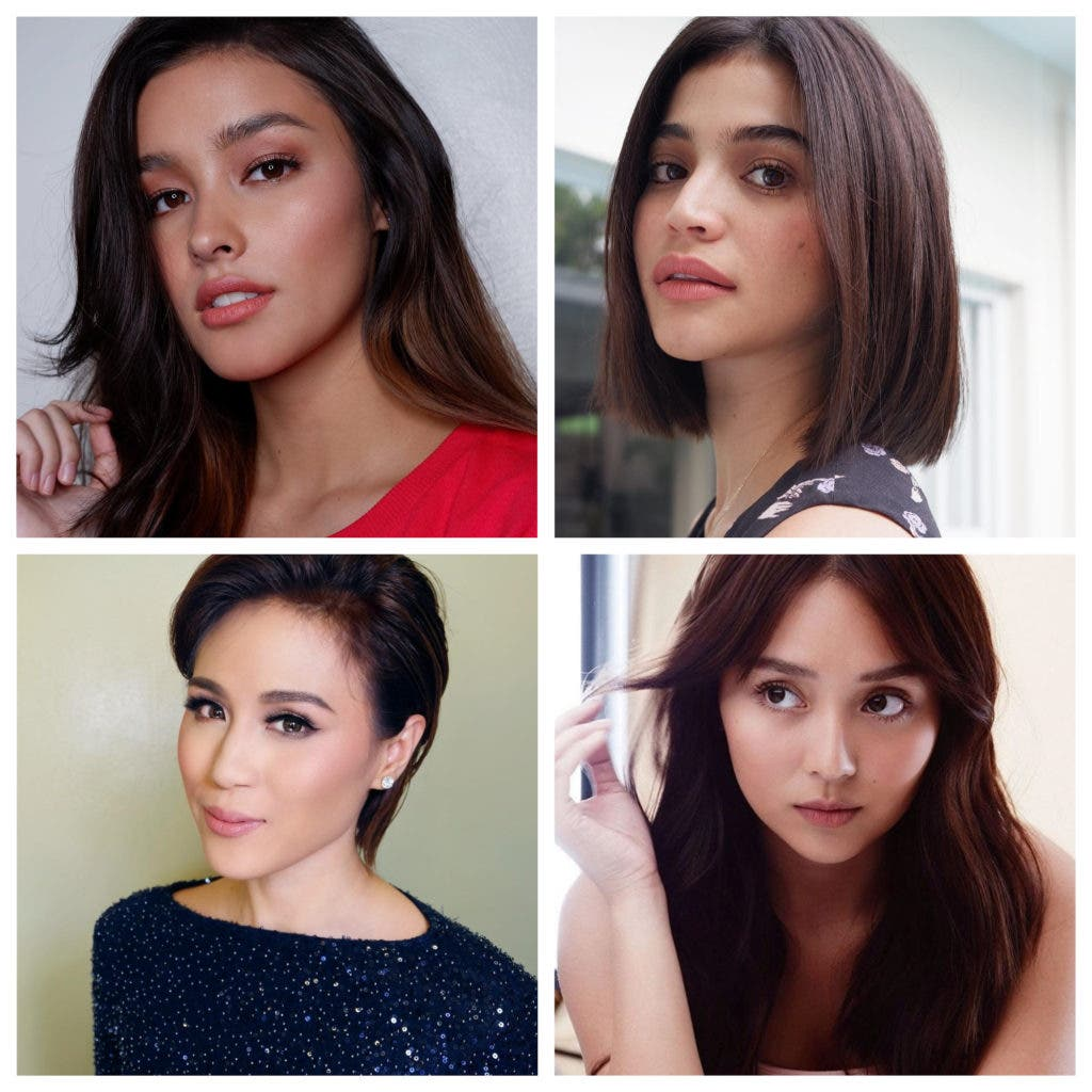 look: here are 10 filipina celebrity hair pegs for every