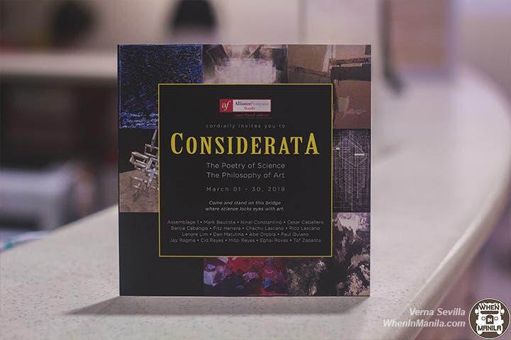 considerata 01 - Considerata Exhibit: Where Art and Science Collide