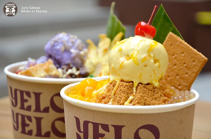 yelo yelo7 - LOOK: This Filipino Dessert Café Gives a Unique Twist on Classic Pinoy Favorites And They Are Good For Sharing at P169!