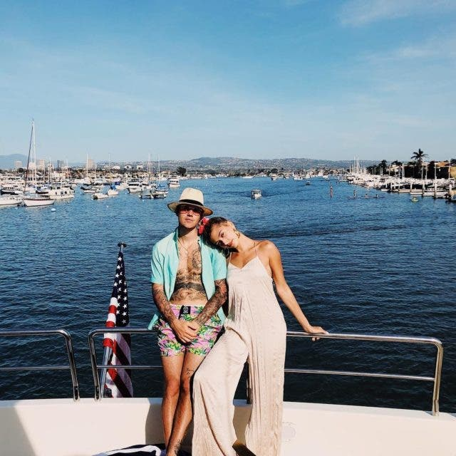 Hailey and Justin Bieber together 2