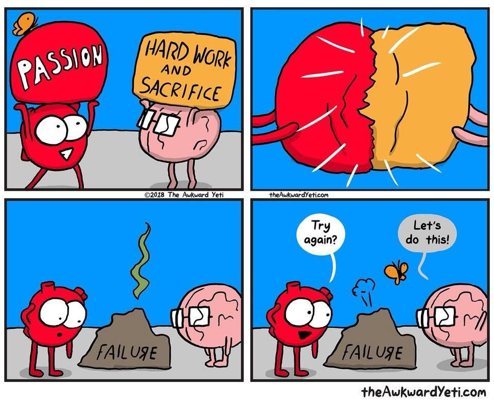 Heart and Brain Passion Comic