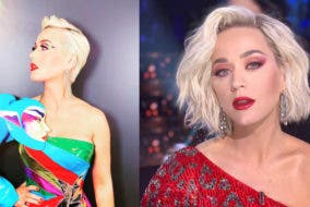 Katy perry Unrecognizable with New Hairdo