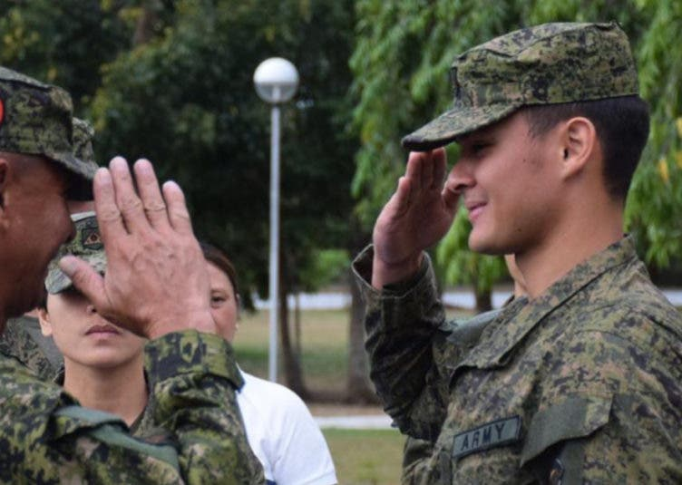Matteo Guidicelli now a PH Army Reservist