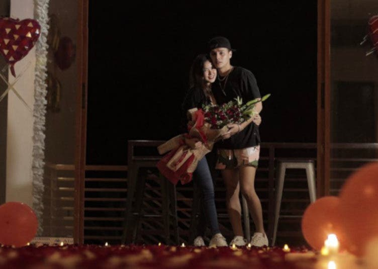Ronnie Alonte birthday surprise for Loisa Andalio