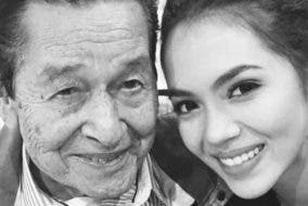 Julia Montes and Eddie Garcia