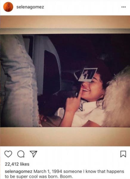 Selena Gomez Deletes Photo of Justin on Instagram