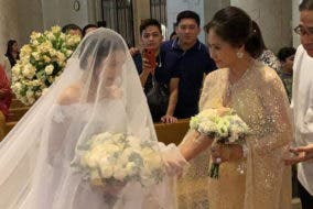Gerphil Flores now married